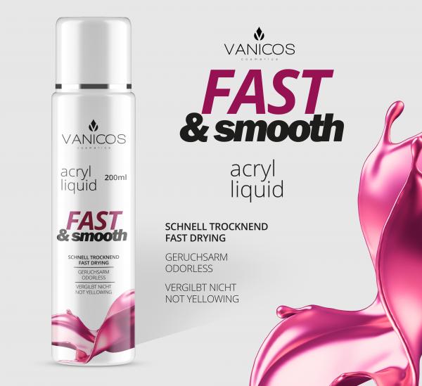 VANICOS Acrylliquid Fast & Smooth 200ml