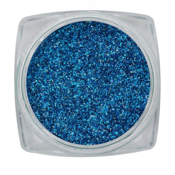 Magnetic Pigment Chrome Sparkle Blau