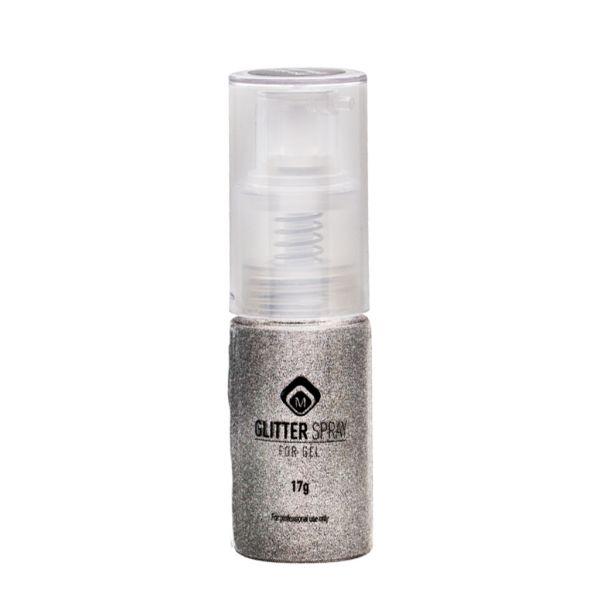 Glitterspray White Gold 17g