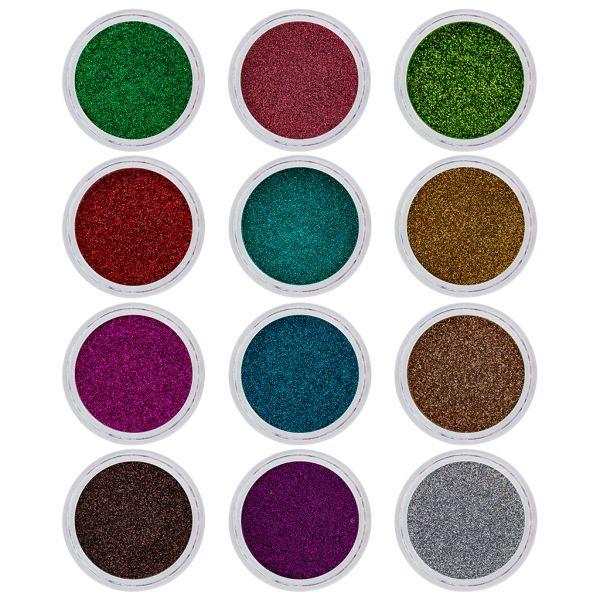 Glittermix Spring 12 Stück