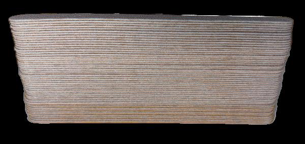Wechselfeilblätter zebra Long Life Profi 100 grit 50 Stück/Pack