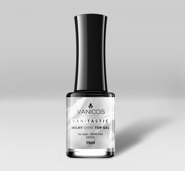 VANITASTIC Milky Shine Top-Gel Flasche 15ml