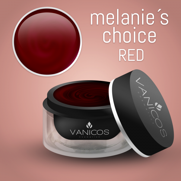 VANICOS Farbgel Melanie´s Choice Red 5ml