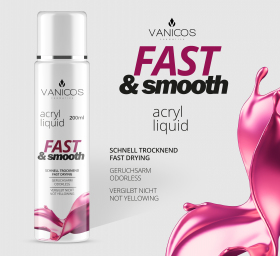 VANICOS Acrylliquid Fast & Smooth 200ml