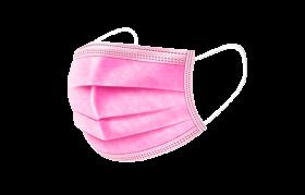 Mundschutz pink