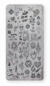 Stempelplatte Tattoo