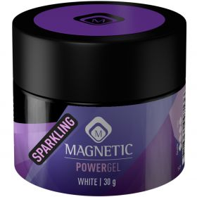 PowerGel by MAGNETIC  Sparkling White 30gr