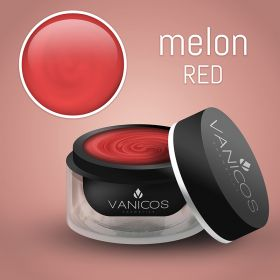 VANICOS Farbgel Melon Red Metalliceffekt