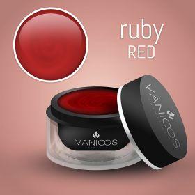 VANICOS Farbgel Ruby Red