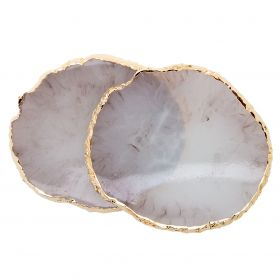 Display Agate Geode Taupe