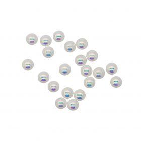 Perlen 3mm irisierend
