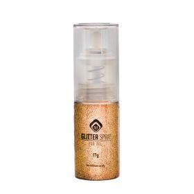 Glitterspray Ockergold  17g