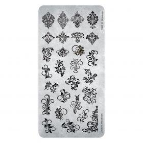 Stempelplatte Ornaments #32