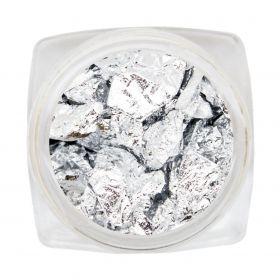 Blatt Silber Folie