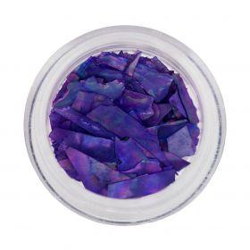 Inlay Muschelsplitter Purple