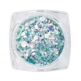 Mirror Inlay Light Blau