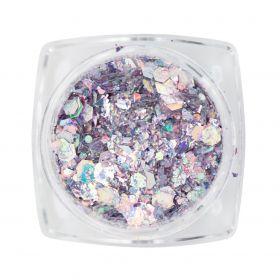 Mirror Inlay Mixed Purple