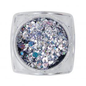 Metal Inlay Silber