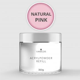 VANICOS Acrylpowder Natural Pink 350g
