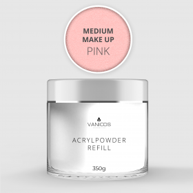 VANICOS Acrylpowder Make Up Pink Medium 350g