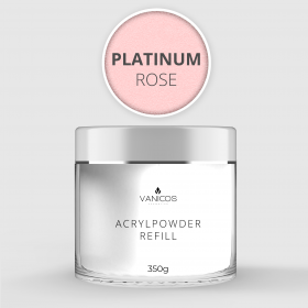 VANICOS Acrylpowder Platinum Rose 350g