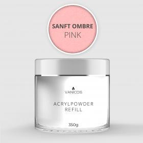 VANICOS Acrylpowder Sanft Ombre Pink 350g