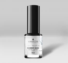 VANITASTIC Rubber Base Gel CLEAR 15ml