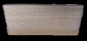 VANICOS Wechselfeilblätter zebra Long Life Profi 180 grit 50 Stück/Pack