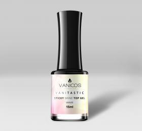 VANITASTIC Sticky Shine Top-Gel Flasche 15ml