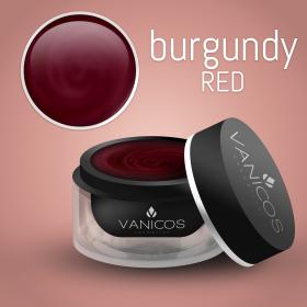 VANICOS Farbgel Burgundy Red 5ml