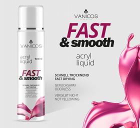VANICOS Acrylliquid Fast & Smooth 500ml